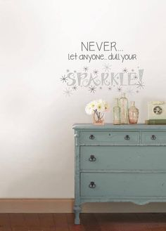 Sparkle - Wall Decal Quotes