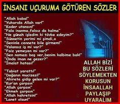 Dikkat edilmesi gereken tehlikeli sözler Allah Islam, Teaching Tools, Islamic Quotes, Ramadan, Karma, Religion, Life, Twitter, Check