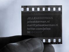 Post image for Jelle Akkerman's Photography Business Card