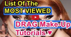 Squarespace - Claim This Domain Drag Queen Makeup, Drag Makeup, Crossdressers, Make Up, Makeup Tutorials, Youtube, Internet, Makeup, Beauty Makeup