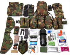 The contents of your webbing make up PLCE Combat Order. This image shows some recommended contents for an Adult Instructors or Cadet NCO's webbing and can be used as a basis for ideas.