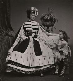 Pierre-Louis Pierson - Countess de Castiglione and Her Son