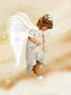 """Sweet Angel ^i^ - """"Everyone has an Angel, given to us from the start, trust and faith is what we need, to hear them in our heart."""""""