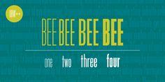 Bee™ - Webfont & Desktop font « MyFonts