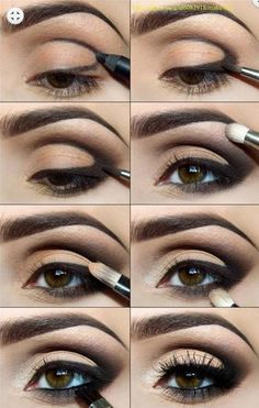 Sexy Eye Makeup Tutorials - Poolside Glitter Goddess - Easy Guides on How To Do Smokey Looks and Look like one of the Linda Hallberg Bombshells - Sexy Looks for Brown, Blue, Hazel and Green Eyes - Dramatic Looks For Blondes and Brunettes - thegoddess.com/sexy-eye-makeup-tutorials
