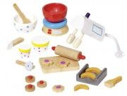 Puppenhaus Accessoires Backen