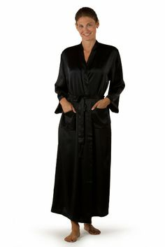 TexereSilk Women s Luxury Long Silk Robe - Luxury Gift Ideas for Ladies at  Amazon Women s Clothing store  9cae0ba18