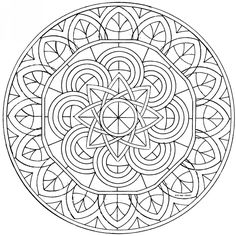 Dibujos Hindues Para Colorear Mandalas Make your world more colorful with free printable coloring pages from italks. Our free coloring pages for adults and kids. Mandala Coloring Pages, Coloring Book Pages, Mandala Drawing, Mandala Art, Celtic Mandala, Free Printable Coloring Pages, Mandala Pattern, Dot Painting, Zentangles