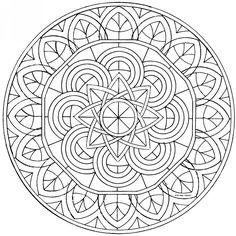 11 mandalas para colorear budistas (6)