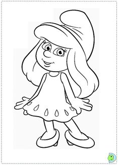images smurf coloring pages