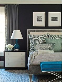 Transitional (Eclectic) Bedroom by Brian Watford