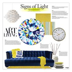 """""""Signs Of Light"""" by marion-fashionista-diva-miller ❤ liked on Polyvore featuring interior, interiors, interior design, home, home decor, interior decorating, Holiday Lane, Lazy Susan, Kim Salmela and JAG Zoeppritz"""