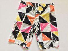 721d271d40 Men's Size 34 Billabong Geometric Board Shorts #fashion #clothing #shoes  #accessories #mensclothing #swimwear (ebay link)