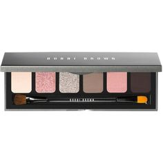 Bobbi Brown Instant Pretty Eye Palette ($54) ❤ liked on Polyvore featuring beauty products, makeup, eye makeup, eyeshadow, no color, bobbi brown cosmetics and palette eyeshadow