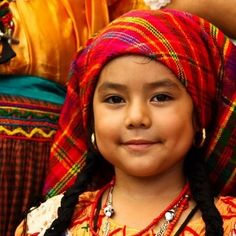 Pipil girl, El Salvador. That's my tribe...right there!!!!
