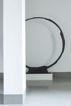 | P | Circle Metal Sculpture - Artist Bruno Romeda