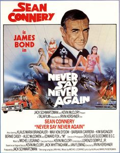 NEVER SAY NEVER AGAIN [1983 /米/ GER BR]