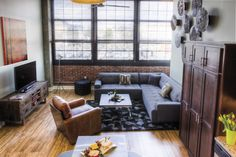 Foundry Lofts Living Room