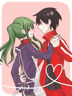 #Kido and #Shintaro (Kagerou Project) don't temme you're cheating behind kano *^* #kagepro