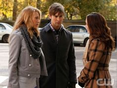 Serena van der Woodsen, Nate Archibald and Blair Waldorf • Gossip Girl