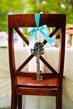alice in wonderland tea party wedding inspiration chair decor 275x412 Inspiration: Wonderland Tea Party