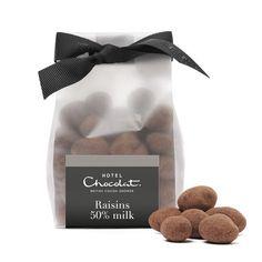 50% Milk Chocolate Raisins,
