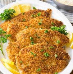 Chicken Breast Recipes Slow Cooker, Italian Chicken Recipes, Chicken Breast Recipes Healthy, Healthy Recipes, Healthy Chicken, Thin Chicken Cutlet Recipes, Chicken Meals, Italian Pasta, Italian Dishes