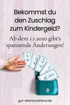 KiZ – Zuschlag zum Kindergeld ab – Finance tips for small business Parenting Books, Single Parenting, Kids And Parenting, Parenting Quotes, A Child Is Born, Second Child, Hacks Every Girl Should Know, Thing 1, Parents