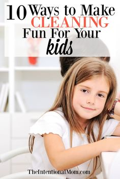 Let's face it, cleaning can be a drag at times but it doesn't have to be. Read how this mom of 8 turns cleaning into a fun time for kids! via @www.pinterest.com/JenRoskamp