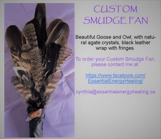 All Smudge Fans & Smudge Feathers are some of the most sacred items I offer. All smudge fans and Smudge Feathers may be custom ordered to reflect your intentions. Smudging, Dream Catcher, Fans, Just For You, Healing, How To Make, Dream Catchers, Followers, Therapy