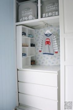 22. #Kiddie Closet - 33 Ikea #Hacks Anyone Can do ... → DIY #Storage