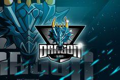 Dragon - Mascot & Esport Logo by aqrstudio on Envato Elements Logo Youtube, Logo Dragon, Dragon Illustration, Game Logo Design, Esports Logo, Apps, Behance, Fire Art, Graphic Design Services