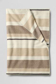 Pendleton Multi Stripe Blanket from Lands' End