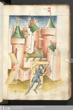 169 [84r] - Ms. germ. qu. 15 - Bellifortis - Page - Mittelalterliche Handschriften - Digitale Sammlungen