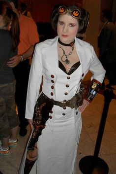 Okay, this was just too cool not to pick up for this board...Steampunk Leia!