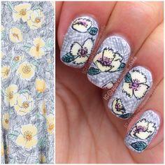 """Nailpolis Museum of Nail Art   Fashion Inspired Florals by Amanda """"Sparklicious Nails"""""""