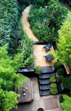 Architects' Roundup: 10 Garden Stairways