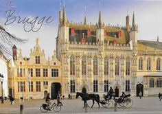 PK1263. Brugge. Belgien. Burg.
