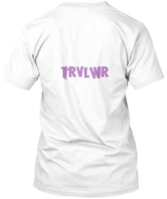 Trvlwr White T-Shirt Back