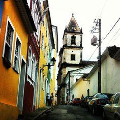 """""""A Bahia é um estado que tem muitos lugares paradisíacos cheios de histórias que nos encantam, e sua capital Salvador é um pedaço desta Bahia fascinante, com seus museus, Igrejas, ruas estreitas e casarões coloridos mostrando a cultura, fé e alegria que o povo baiano tem... .  Salve a Bahia! Salve Salvador!! Salve 3 anos de Concept Bar!!!"""" Photo taken by @concept_bar on Instagram, pinned via the InstaPin iOS App! http://www.instapinapp.com (05/25/2013)"""