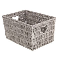 Buy Argos Home Large Woven Heart Storage Basket at Argos. Thousands of products for same day delivery or fast store collection. Linen Baskets, Laundry Bin, Large Storage Baskets, Bathroom Essentials, Paper Frames, Kids Jewelry, Small Kitchen Appliances, Home Entertainment, Argos