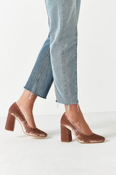 Shop KMB Arcilla Velvet Heel at Urban Outfitters today. We carry all the latest styles, colors and brands for you to choose from right here.