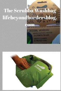 Scrubba Wash Bag © - Life Beyond Borders. Read all about this great travel laundry invention