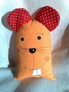 Myška hryzka 2 by Levandulka - SAShE.sk - Handmade Úžitkový textil