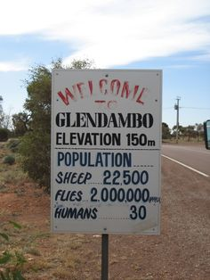 13. Spot some awesome signs #Australia www.topthingstodointheworld.com