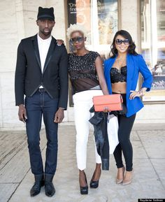 New York Fashion Week Street-Style | New York Fashion Week Street Style: Our Favorite Looks From Day 1 & 2 ...