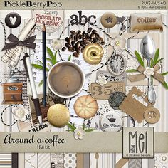 Around a coffee - Full kit By Mel Designs