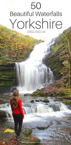 50 of the Best Waterfalls in Yorkshire! Visit Yorkshire, Yorkshire England, Yorkshire Dales, North Yorkshire, Days Out Yorkshire, Cornwall England, Places To Visit Uk, Beautiful Places To Visit, Places To Travel