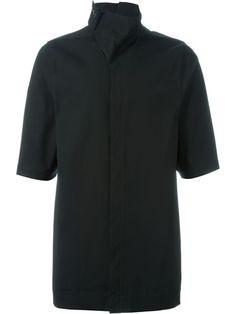 RICK OWENS Short Sleeve Shirt. #rickowens #cloth #shirt