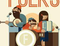 The Folks by dylan jones, via Behance
